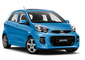 Rent Kia Picanto in Baku