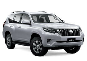 Rent Toyota Land Cruiser Prado in Baku
