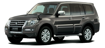 Rent a car Mitsubishi Pajero in Baku