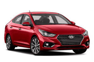 Rent a car Hyundai Accent in Baku