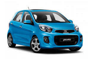 Rent a car kia picanto in Baku