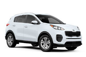 Rent a car Kia Sportage in Baku