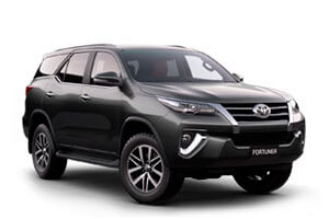 Rent a car Toyota Fortuner in Baku