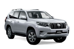 Rent a car Toyota Land Cruiser Prado in Baku